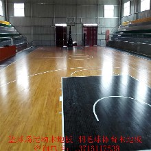 室内运动木地板体育木地板_实木体育运动地板厂家图片