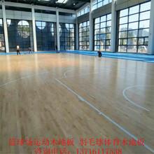 室内篮球木地板枫木篮球体育木地板_运动木地板_实木篮球地板厂家图片