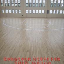 阳江篮球木地板规格,羽毛球实木运动地板安装图片