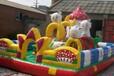 全新的儿童游乐园充气成阿伯好玩的蹦蹦床