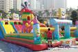 浙江杭州湾大型充气滑梯户外儿童游乐园大攀岩充气包多少钱