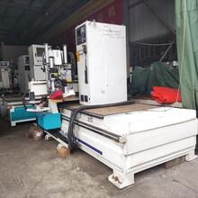 木工机械数控加工中心CNC雕刻机开料机12刀库带钻包自动上下料图片