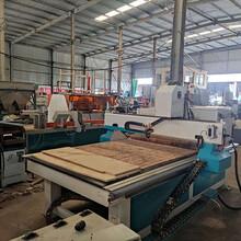 二手木工機械雙工序1325數控雕刻機開料機木板環氧板亞克力圖片