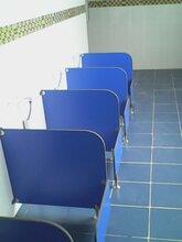 南宁市溧水区幼儿园卫生间隔断儿童老师学校卫生间带门厕所挡板图片