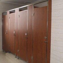龙泉市银鑫公共PVC淋浴间隔断供应防水防火板厕所隔断安装加工图片