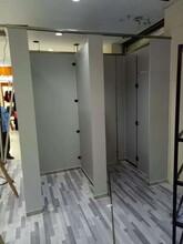 东阿县鑫富雅加工定制天地式隔断卫生间PVC隔断板厕所隔断图片