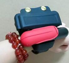 自动膨胀救生设备,防溺水救生手环,CO2气瓶自动充气气囊,救生手腕带图片