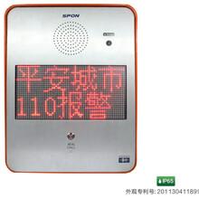 世邦NAS-8522C型IP网络对讲终端(平安城市/景区专用)图片