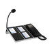 世邦IP網絡尋呼話筒組合NAS-8530具有4.3寸真彩液晶屏,33個功能按鍵