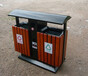 北海户外垃圾桶北海钢木垃圾桶厂家北海最便宜的垃圾桶