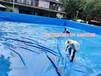 夹网布鱼池生产帆布水池那家好专业帆布虾池养殖帆布鱼池生产厂