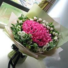 广州市鲜花店情人节花束预定高档花束定制送女朋友送老婆