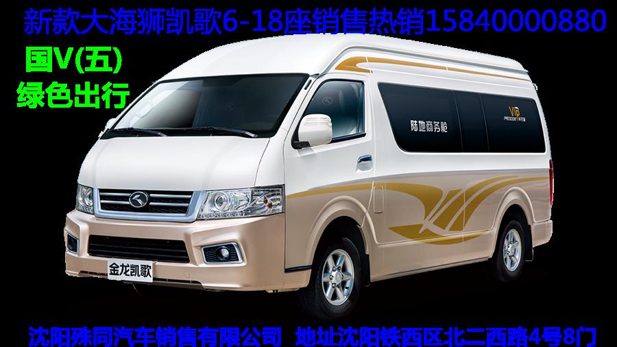 金龙大海狮18座商务车,柴油2.8t