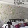 手绘丝绸真丝墙纸手绘金银箔壁纸手绘无缝墙纸壁画专业齐发国际