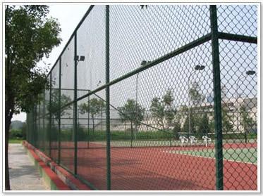 房山网球场围网施工