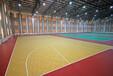 南开室内PVC篮球场地板铺设