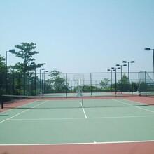 东营硅PU网球场施工建设