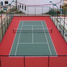 松原网球场施工方案吉林网球场地设计施工
