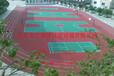 河北印花型防滑塑胶跑道建设