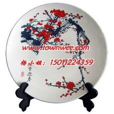 陶瓷艺术盘,茶叶罐定制,礼品定制,陶瓷工艺盘