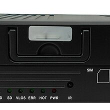 4G高清四路网络车载硬盘录像机1080P图片