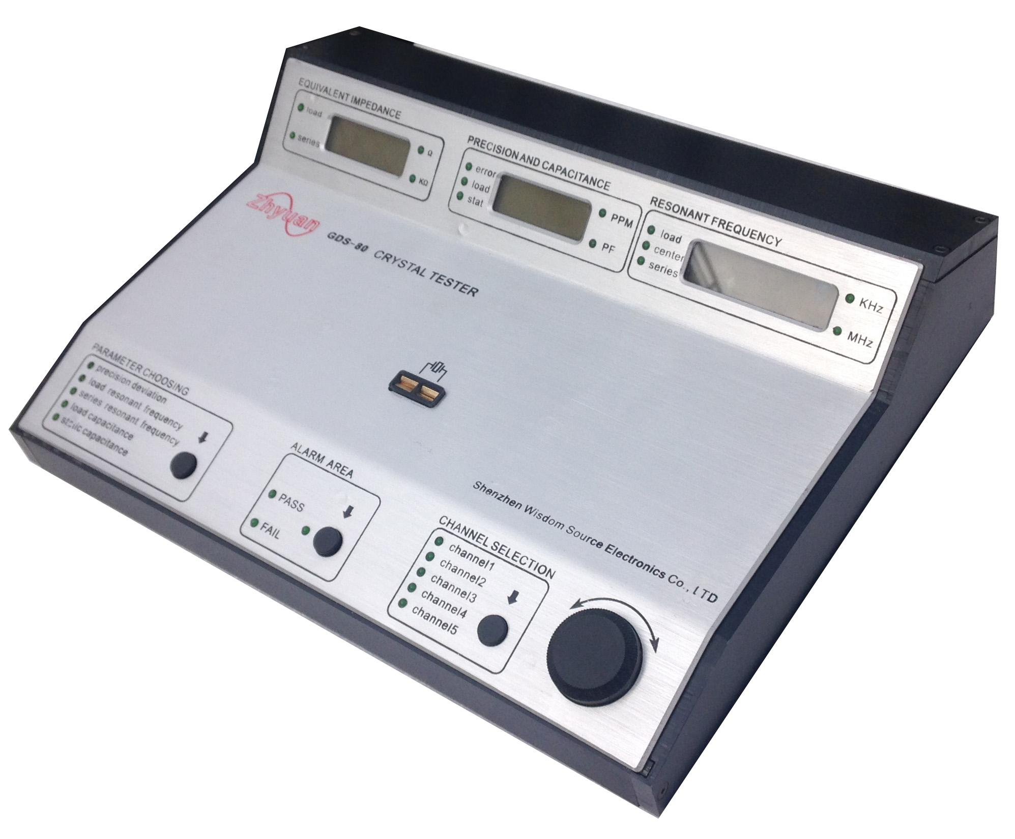 深圳智慧源GDS-80石英晶体频率测试仪厂家,晶振测试系统报价