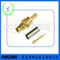 MMCX射频同轴连接器焊线式