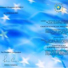 汕尾欧盟外观专利申请认定公司专业欧盟专利申请价格