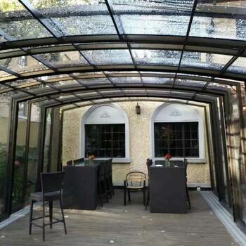 以后有院子了我也想装个这种阳光房,多功能可折叠,向往的生活