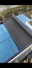 屋顶百叶窗在兮鸿铝百叶卷窗屋面节能伸缩卷窗图片