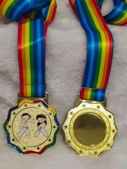 广州金属奖章定制厂家,跆拳道比赛奖牌,金属奖牌定做