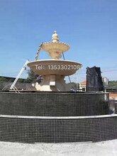 艺宇广场雕塑砂岩喷泉中式喷水池喷泉仿砂岩景观喷泉图片