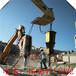 大型破石棒楼房基石拆除静态分裂机