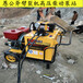 黑龙江采石地基开挖劈岩机成本低