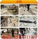 靜態破碎硬石頭的機器劈裂機海南瓊海