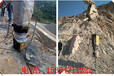 貴州礦山硬石頭破除劈裂機開采液壓巖石劈裂機