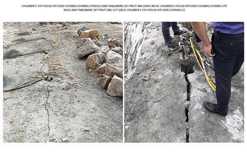 采石场开采岩石劈裂机液压分裂机新疆阿拉尔