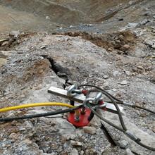 土石方开挖破碎劈裂棒广西柳州图片