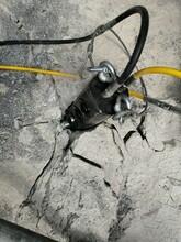 静态液压型开岩石劈裂机甘肃平凉图片