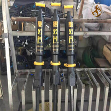 天津混凝土橋面拆除設備分裂機劈裂機圖片