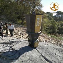 巖石電動液壓劈裂機劈裂機,靜態爆破圖片
