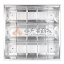 佛山(FSL)T8格栅灯哑光铝嵌入式V型(电子)20W/40W图片