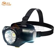 雅格LED头灯/充电探照灯/大功率巡逻灯YG-5599