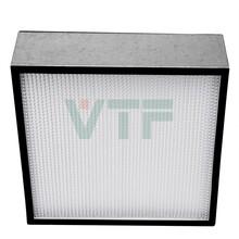 广州精密塑胶五金厂有隔板高效过滤器,木框高效空气过滤器,H13效率可订制尺寸