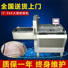 大型砍排机冷冻肉类切片机械设备JY-36K图片