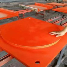 建筑网架橡胶垫块-大型钢构橡胶垫块支座厂图片
