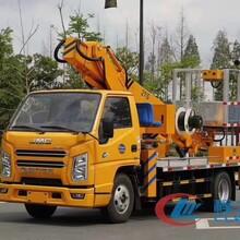 程力高空作业车|国六蓝牌直臂式高空作业车现货供应图片