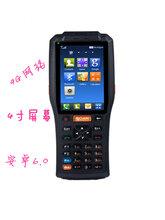 4G全网通4寸屏幕安卓手持智能终端带打印扫描NFC图片