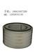 濟柴H12V190ZL柴油發電機組空氣濾芯3012.36.30