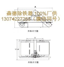白银皮带输送带自卸式除铁器生产厂家悬挂式永磁除铁器磁铁